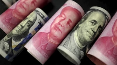 China's love affair with the dollar