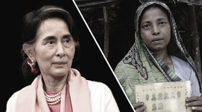 Aung San Suu Kyi's shameful silence on the Rohingya