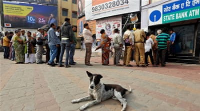 The currency crisis in India has already claimed several lives [Reuters]