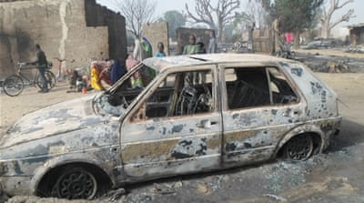 The war between Boko Haram and the Nigerian government has killed 20,000 people in six years [EPA]