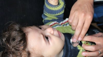 No vaccinations for children in Syria's Eastern Ghouta