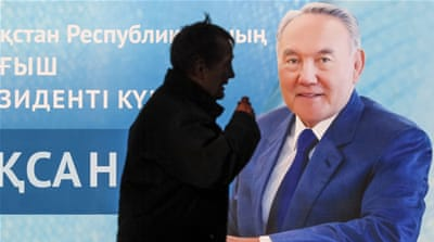 One of the only ways that people can read alternative views in Kazakhstan is through social media [Shamil Zhumatov/Reuters]