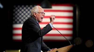 Bernie Sanders speaks at the New Hampshire Democratic party's Jefferson Jackson dinner in Manchester, New Hampshire, on November 29, 2015 [Mary Schwalm/REUTERS]