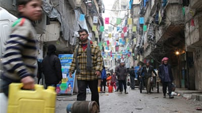 Peace hopes fade as Syrian army tightens grip on Aleppo