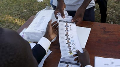 In pictures: Scenes from voting day in Uganda