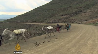 Lesotho farmlands dry up as drought worsens