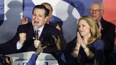 Cruz was born in Canada to a Cuban immigrant father and an American mother [AP]