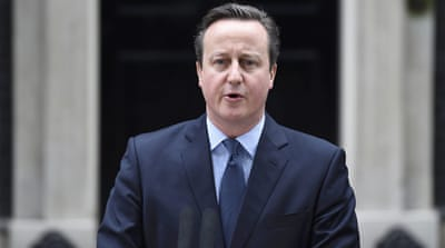 Cameron said his ministers supported his goal of keeping Britain inside the 28-nation bloc [Reuters]
