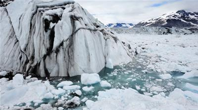 The Arctic continues to rapidly melt, raising concerns about the effects on the planet [James Balog/AP]