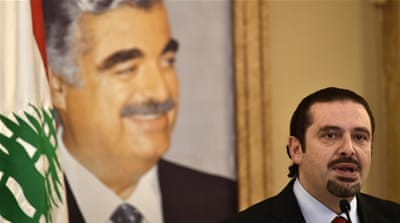 Former Prime Minister Saad Hariri expressed loyalty to the kingdom after tensions had risen in a diplomatic dispute [Wael Hamzeh/EPA]