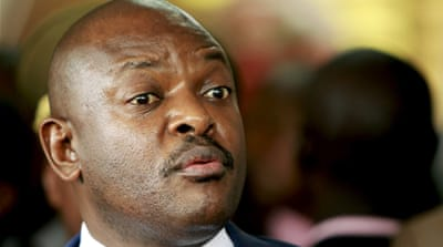 Burundi's crisis was triggered by Nkurunziza's controversial decision in April last year to run for a third term [AP Photo]