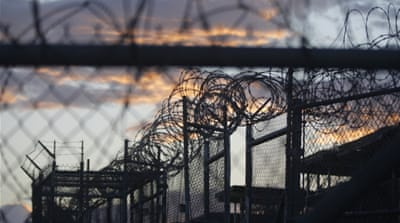 US President Barack Obama has again promised to close down Guantanamo Bay detention centre [File: Mike Brown/EPA]