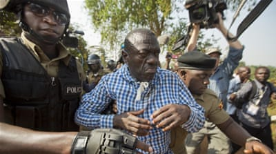 Kizza Besigye has now lost four consecutive presidential elections to Yoweri Museveni [AP/Ben Curtis]