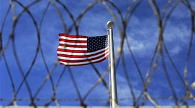 The plan is not expected to name alternative US prisons under consideration for housing detainees, US officials said [Bob Strong/Reuters]