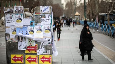 Iranian voters hope for economic growth