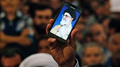 People using social media far exceed those watching Iranian State TV, according to an Iranian telecommunications executive [EPA]