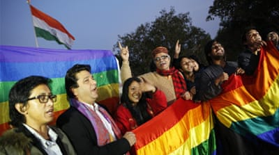 Central to the debate is Section 377 of the Indian Civil Code which recommends criminal prosecution for 'carnal intercourse against the law of nature' [Reuters]