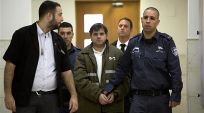 Israeli convicgted of killing palestinian teen