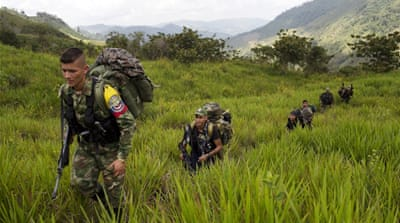 Many Colombians would rather see the rebels vanquished [File: Alejandro Ernesto/EPA]