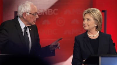 Clinton attacks surging Sanders in New Hampshire debate