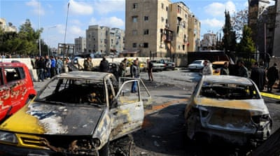According to reports, at least eight people were killed and 20 wounded in the attack [SANA]