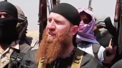 Abu Omar al-Shishani [Screengrab from YouTube]