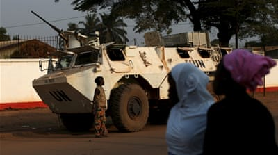UN peacekeeping forces stand accused of 108 sex abuse cases in CAR, mostly against children [Andrew Medichini/AP]