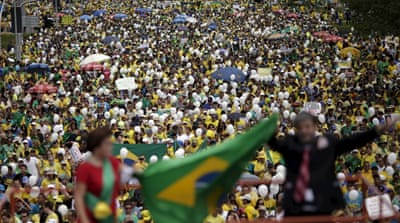 Rallies in Brazil call for Dilma Rousseff's removal
