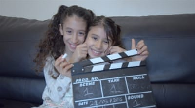 The film follows the journey of two young girls as they learn about the sectarian conflict gripping the Islamic world [Photo courtesy of Hassan Kafi]