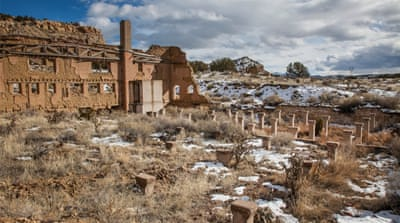 The ghosts of New Mexico's abandoned mining towns
