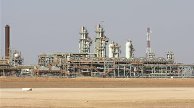 Algerian gas plant hit by rocket attack