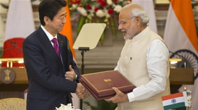 India and Japan get closer as China flexes its muscles