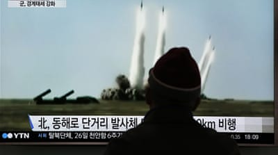 US intelligence assessments say Pyongyang still faces hurdles in creating a nuclear capable missile [Reuters]