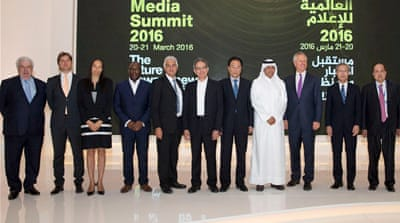 Media figures from across the world spoke on the rise of digital media  [Al Jazeera]