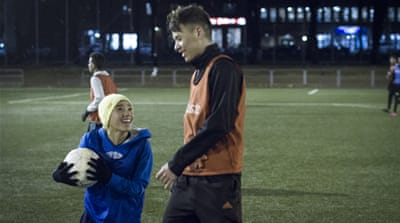 Sweden: A football family for child refugees