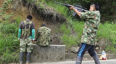 Will Colombia's child soldier recruiters face justice?