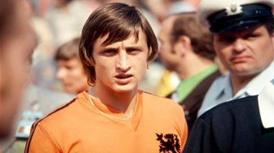 Johan Cruyff, Dutch football icon, dies at 68