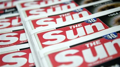 Britain's press regulator censured The Sun for a 'significantly misleading' story about Muslims after the Paris attacks [Reuters]