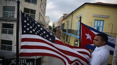US President Barack Obama and Cuban President Raul Castro held a joint press conference in Havana [Fernando Ravsberg/Al Jazeera]