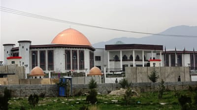 The Taliban claimed responsibility for the attack on Kabul's new parliament building [Rahmat Gul/The Associated Press]
