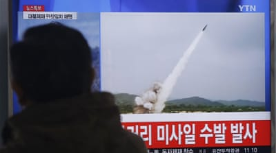 North Korea fires 'projectiles' after new UN sanctions