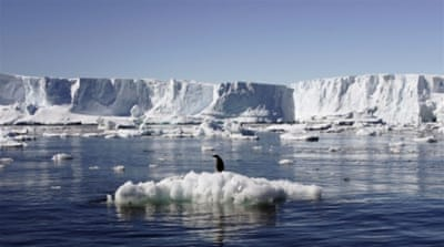 By the year 2500, computer simulations predict seas 13 metres higher - purely from Antarctic melt [Reuters]