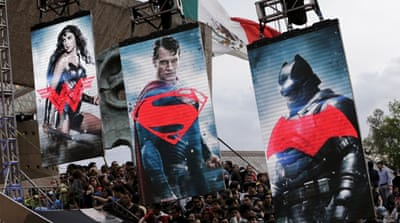 Superheroes take over Hollywood
