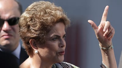 Rousseff blow as Brazil's biggest party quits coalition