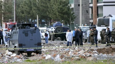 The loud explosion took place near a bus terminal in Diyarbakir [Reuters]