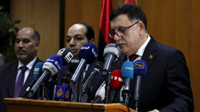 Libya's UN-backed government sails into Tripoli