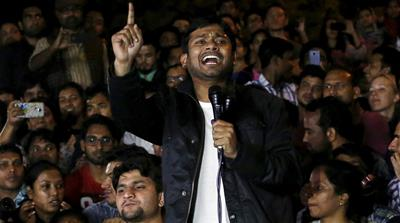 Loud and clear, Indian students send message of freedom