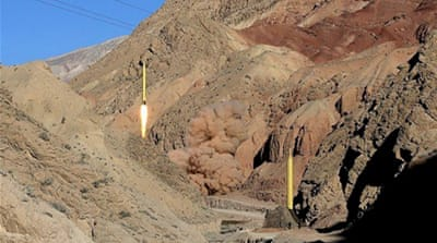 The test was the latest in a series of tests aimed at demonstrating Iran's intentions to push ahead with its ballistic programme [Reuters]
