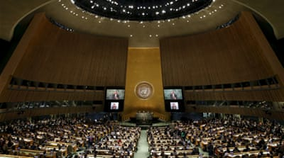 The UN General Assembly responded to demands the secretary-general be chosen in a more open process [AP]