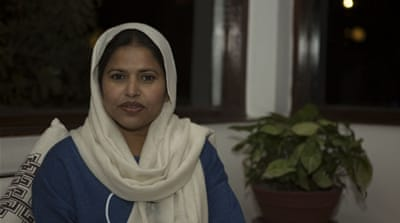 When Mohna Ansari became the first in her family to graduate, she also became Nepal's first female Muslim law graduate [Prabhat Jha/Al Jazeera]